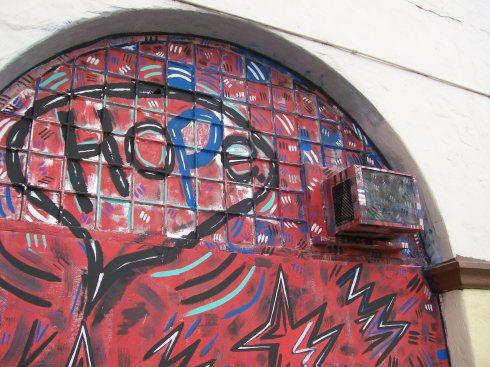 Hope mural in Santa Barbara, California