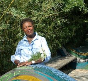 Laverne Davis, master gardener