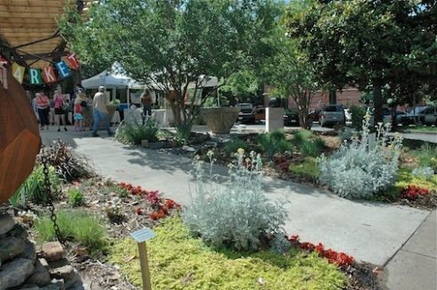 The Bernice Garden on South Main in downtown Little Rock (photo by Laura Hardy)